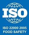 ISO 22000 2005 CERTIFIED